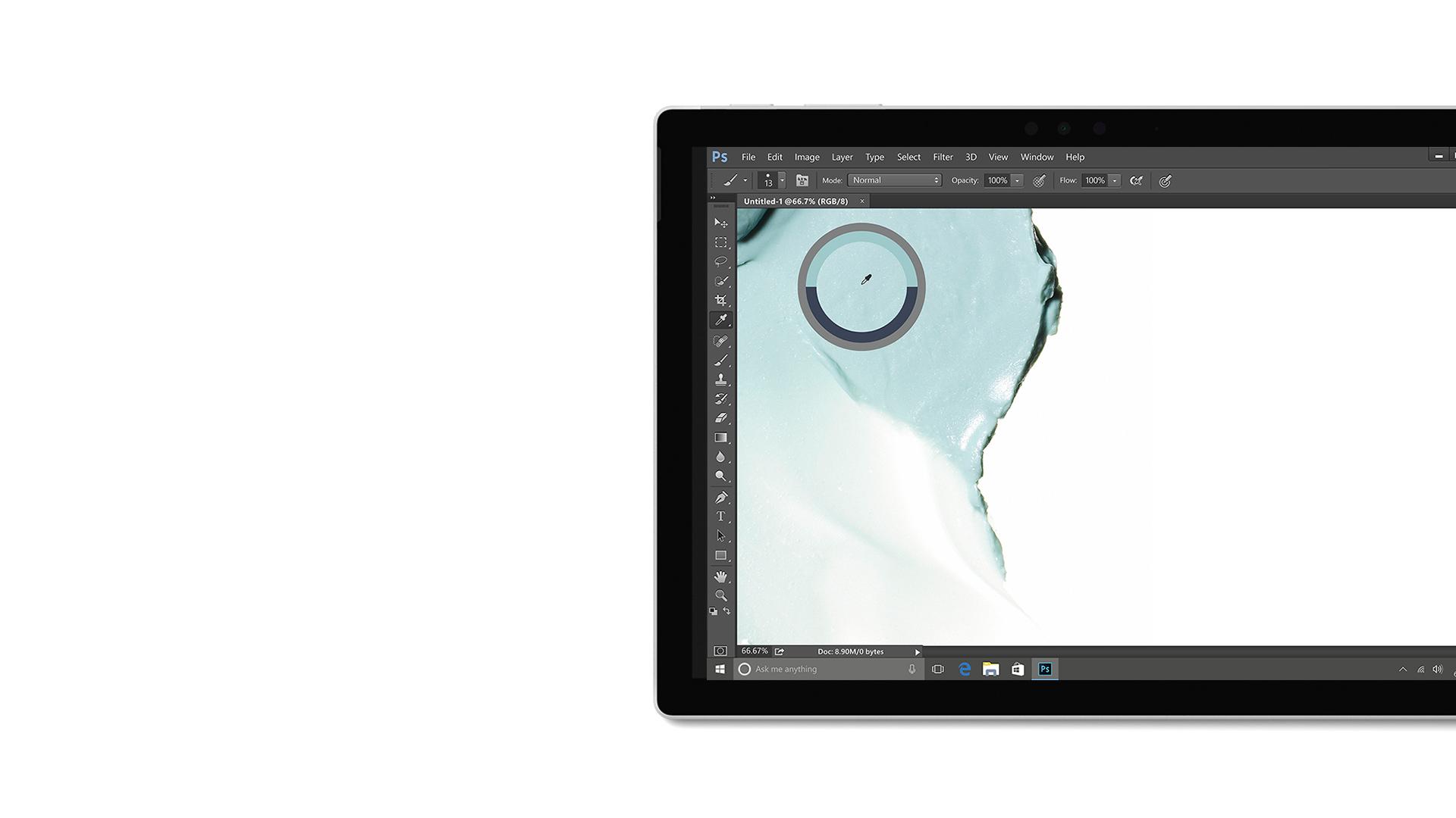 صورة واجهة المستخدم في Adobe Creative Cloud