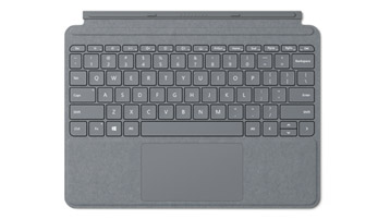 Surface Go Signature Type Cover بلاتيني