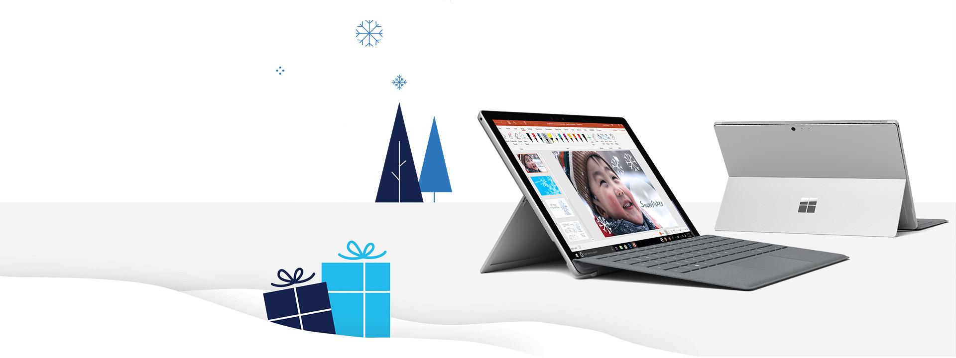 وفّر الإمكانيات عبر أحد أجهزة Surface Pro الجديدة