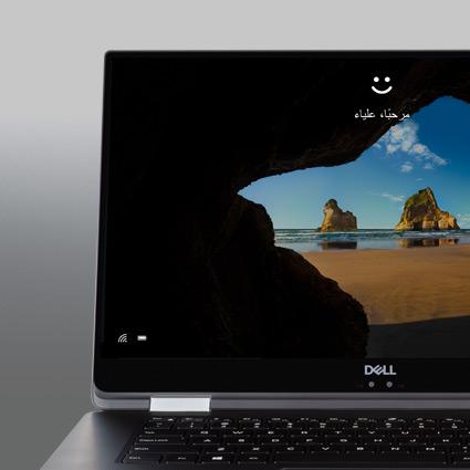 شاشة تسجيل بميزة Windows Hello