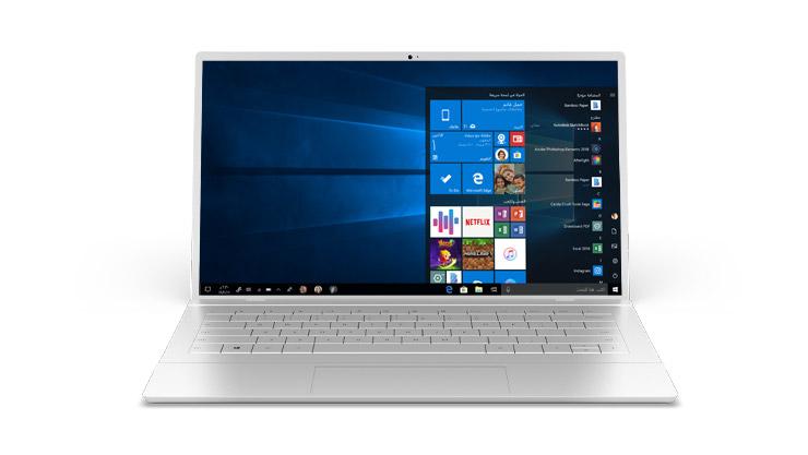 كمبيوتر شخصي يعمل بنظام Windows 10