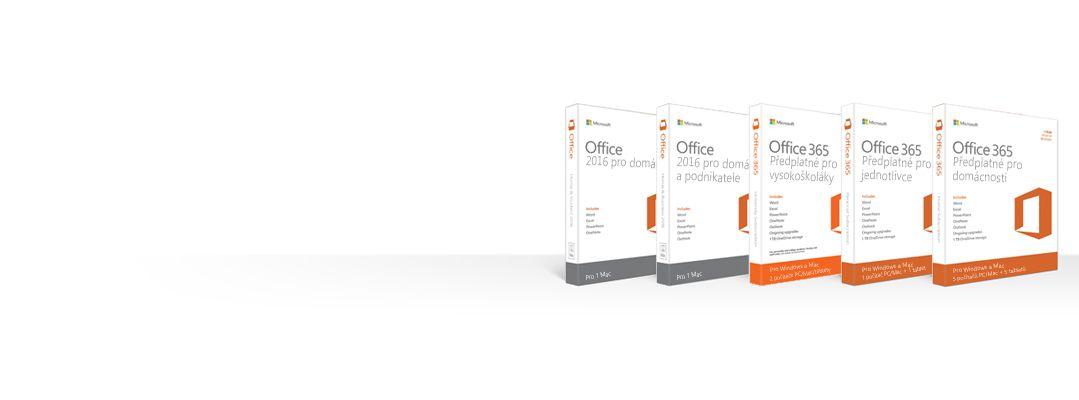 Správa, stažení, zálohování aobnovení produktů Office