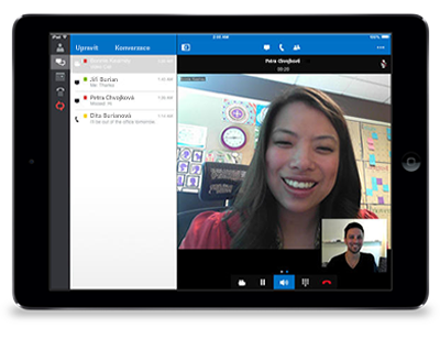 Lync 2013 pro iPad