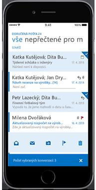 OWA pro iPhone