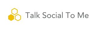 Logo společnosti Talk Social to Me