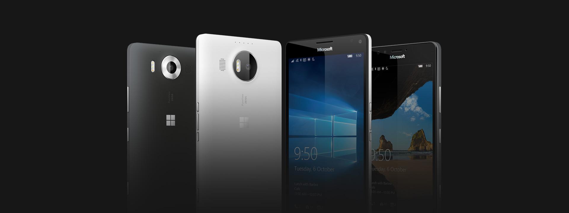 Zjistěte si něco o Lumia 950 and Lumia 950 XL