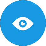 eye icon for personal privacy