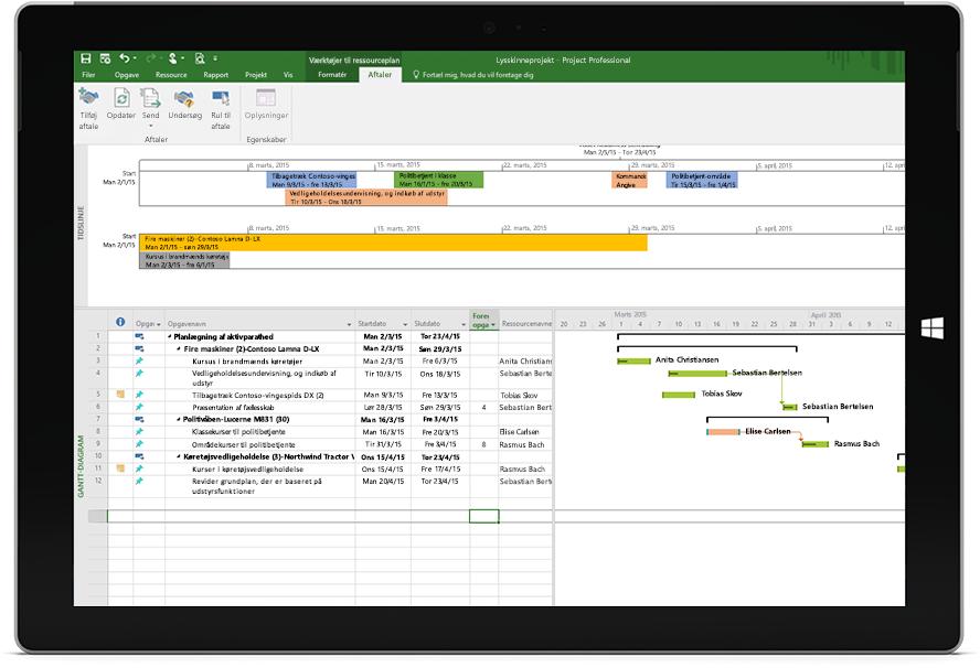 f28e5aa328e Microsoft Project & Portfolio Management til offentlige institutioner