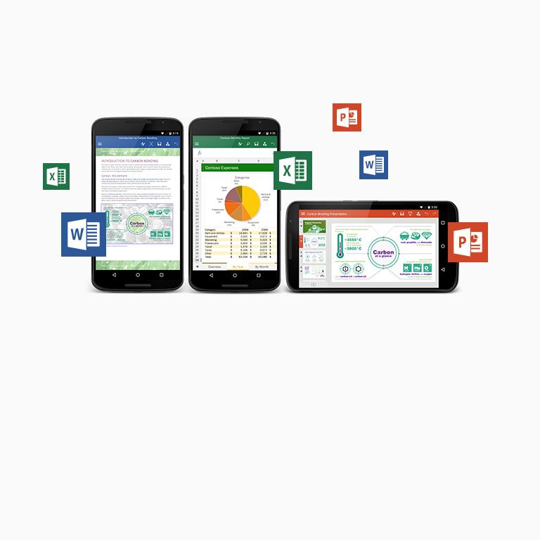 Læs om gratis Office-apps til din Android-telefon og -tablet.
