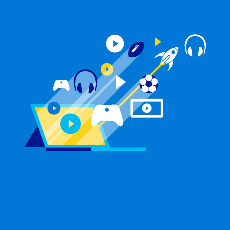 Giv apps, spil og meget mere med gavekort til Windows og Xbox.