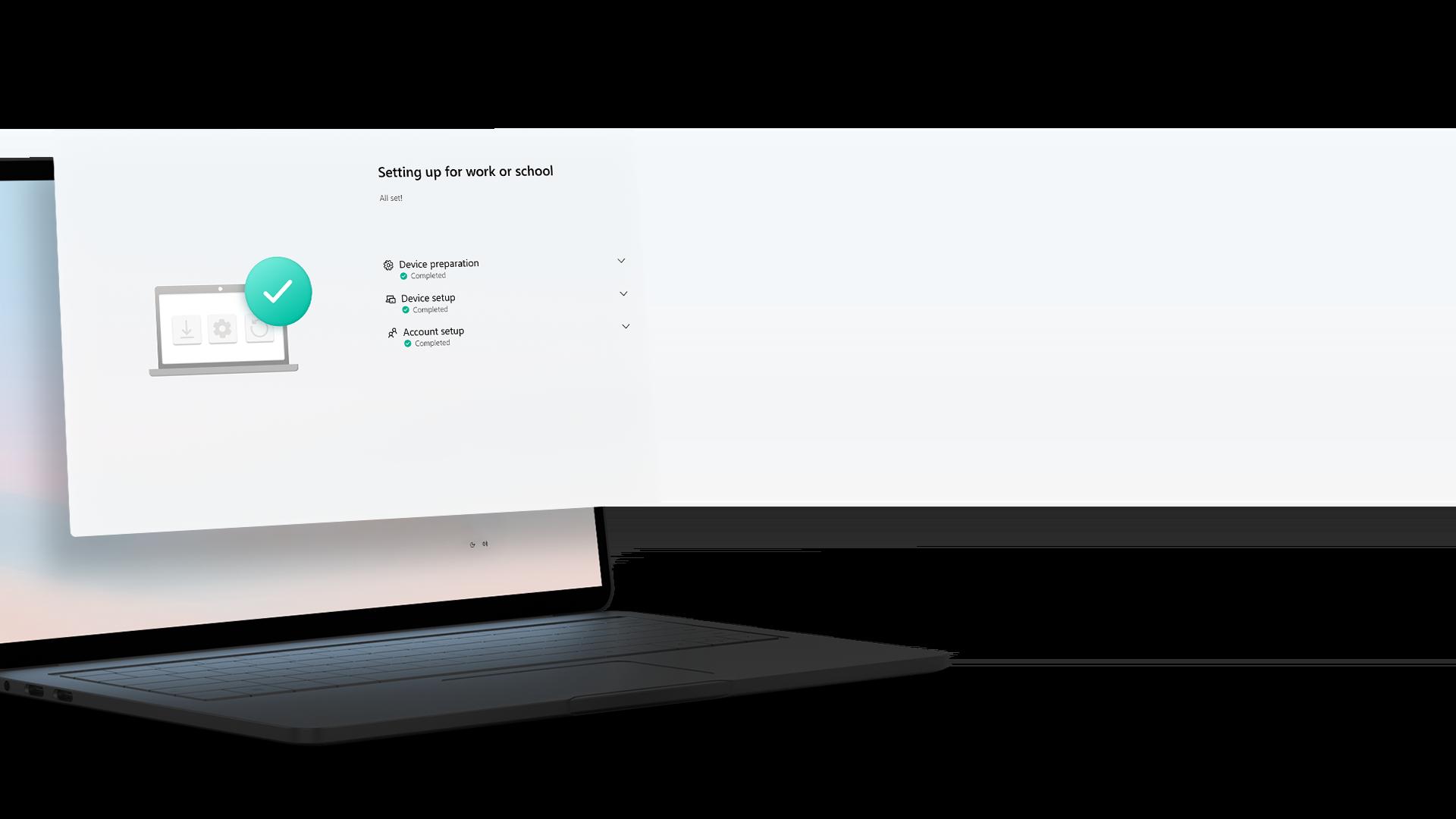 Skærm med kompatibilitet af samme program i Windows 11 på en Windows-enhed