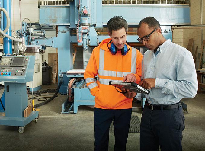 Microsoft Dynamics til produktion og distribution