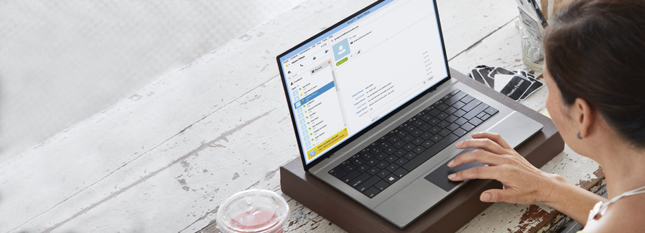 Tilknytning mellem Lync og Skype