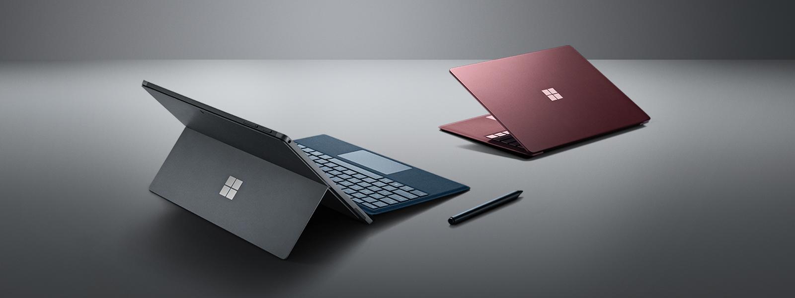 Surface Laptop 2, Surface Pro 6