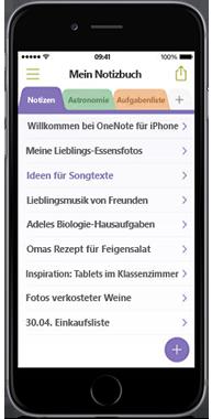 OneNote für iPhone