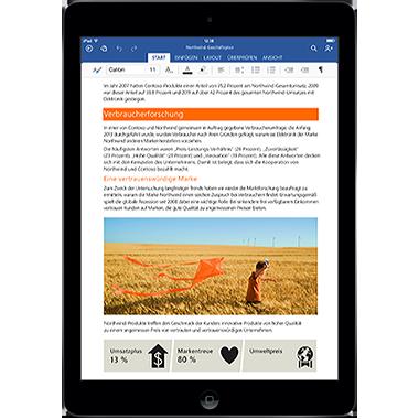 Office für iPad