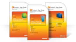 Verwenden der Office 2010-Product Key-Karte