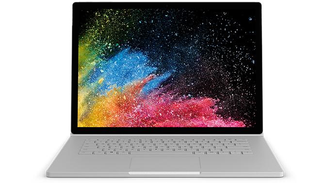 Surface Book 2 mit 15-Zoll-PixelSense™-Bildschirm