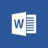 Word-Logo, die Word-Startseite