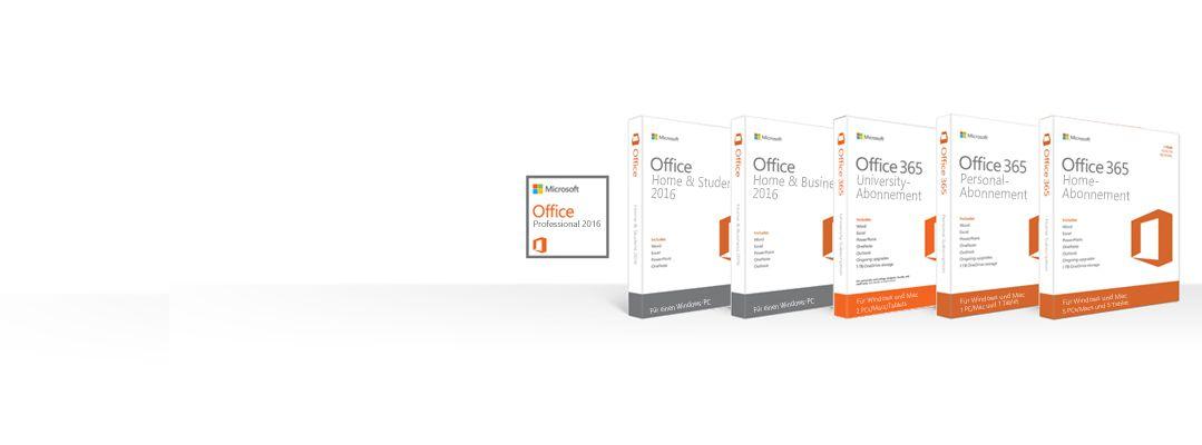 Office-Produkte verwalten, herunterladen, sichern und wiederherstellen
