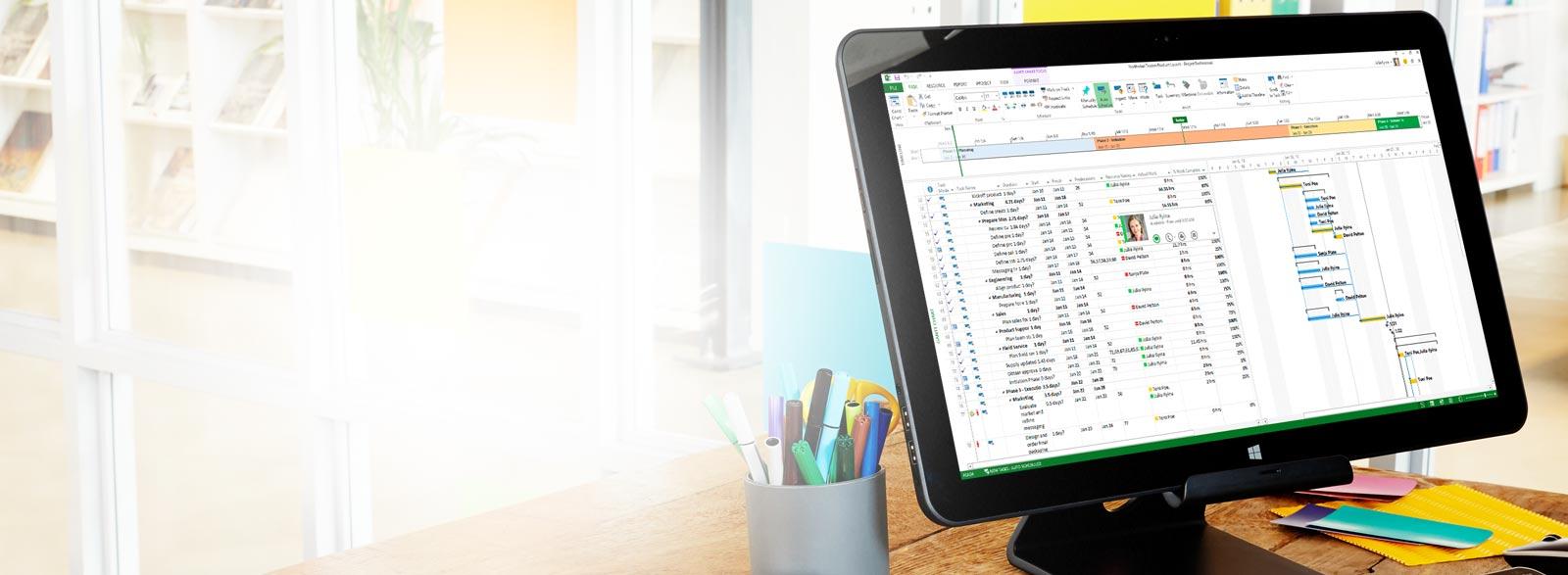 Project Pro für Office 365 testen oder kaufen
