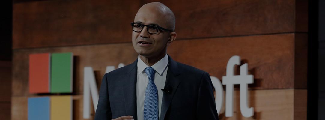 Sehen Sie sich die Cybersicherheit-Keynote zu Microsoft-Sicherheit mit Satya Nadella an.