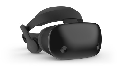 Ein Windows Mixed Reality-Headset