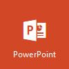 PowerPoint-Logo, Microsoft PowerPoint Online öffnen