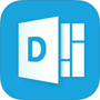 Delve-Logo, Delve-App aus dem App Store herunterladen