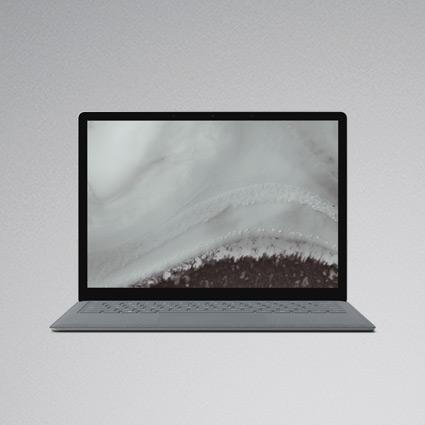 Surface Laptop in Platin Grau