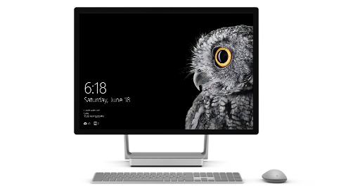 Surface Studio im Desktop-Modus