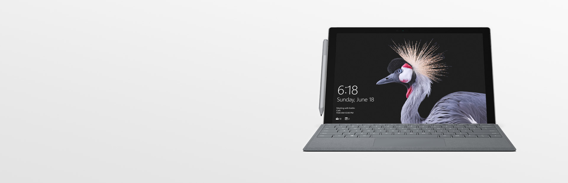 Surface Pro mit Surface-Stift