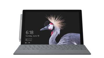 Frontansicht des Surface Pro