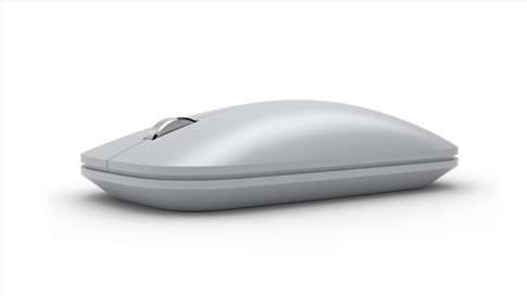 Surface Mobile Mouse in Platin Grau