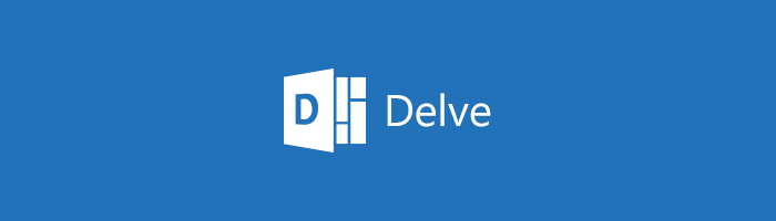 Symbol von Office Delve