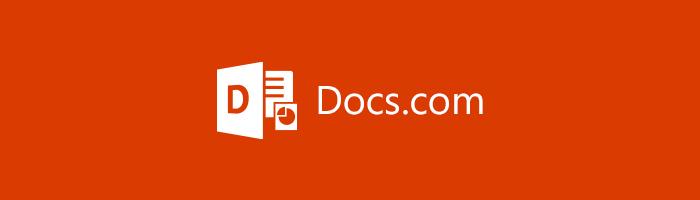 Symbol von Docs.com