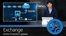 Shobhit Sahay während der Vorstellung von Datenschutzfunktionen gegen E-Mail-Attacken, Informationen zur Schlüsselrolle von Microsoft im Kampf gegen E-Mail-Attacken