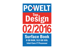 PC WELT Top Design Surface Book