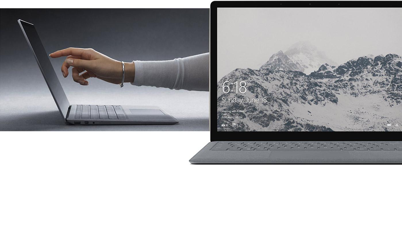 den neuen microsoft surface laptop kaufen surface. Black Bedroom Furniture Sets. Home Design Ideas