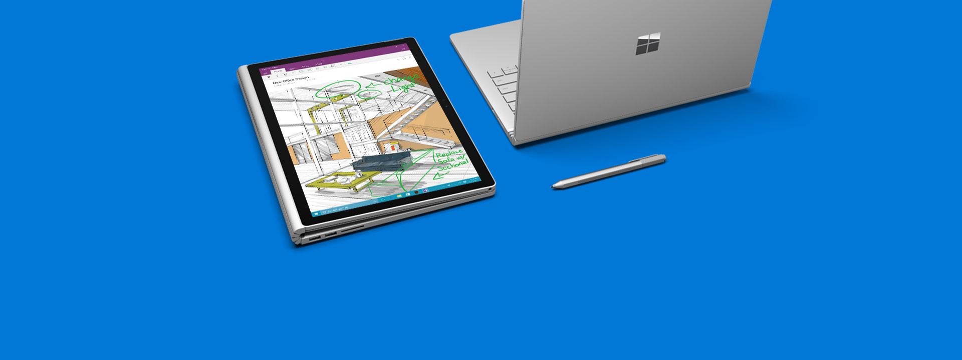 Weitere Informationen zu Surface Book