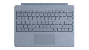 Surface Pro Signature Type Cover in Eisblau
