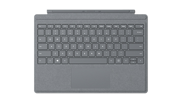 Surface Pro Signature Type Cover Platin Grau