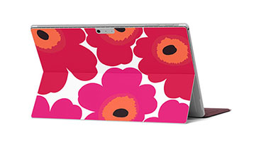 Unikko – The Marimekko Skin for Microsoft Surface Pro