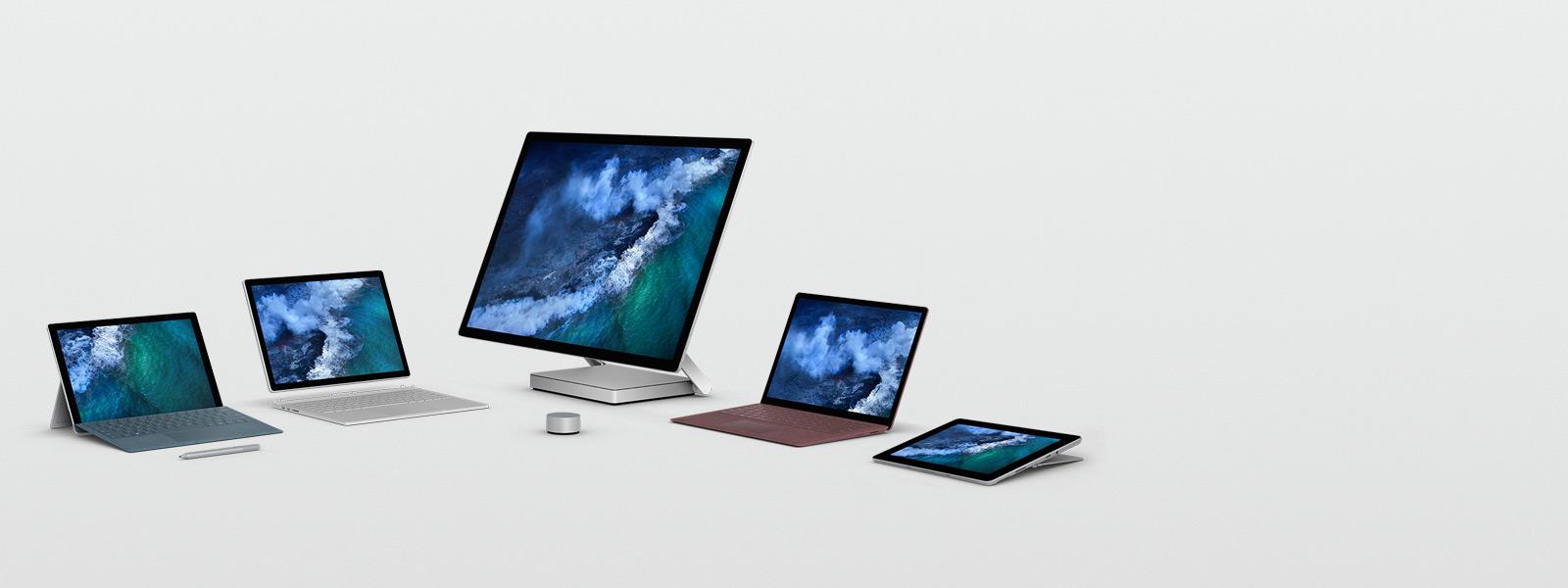 Surface-Gerätefamilie