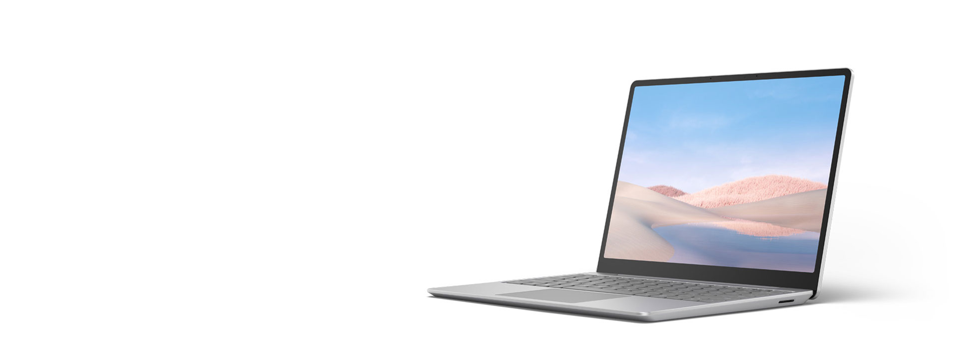 Surface Laptop Go in Platin