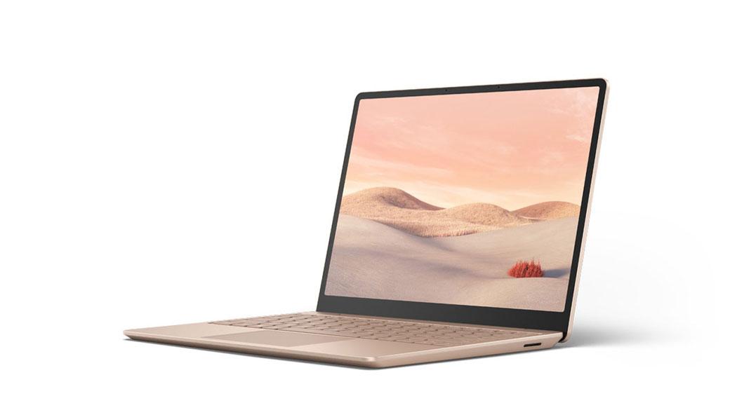 Surface Laptop Go in Sandstein