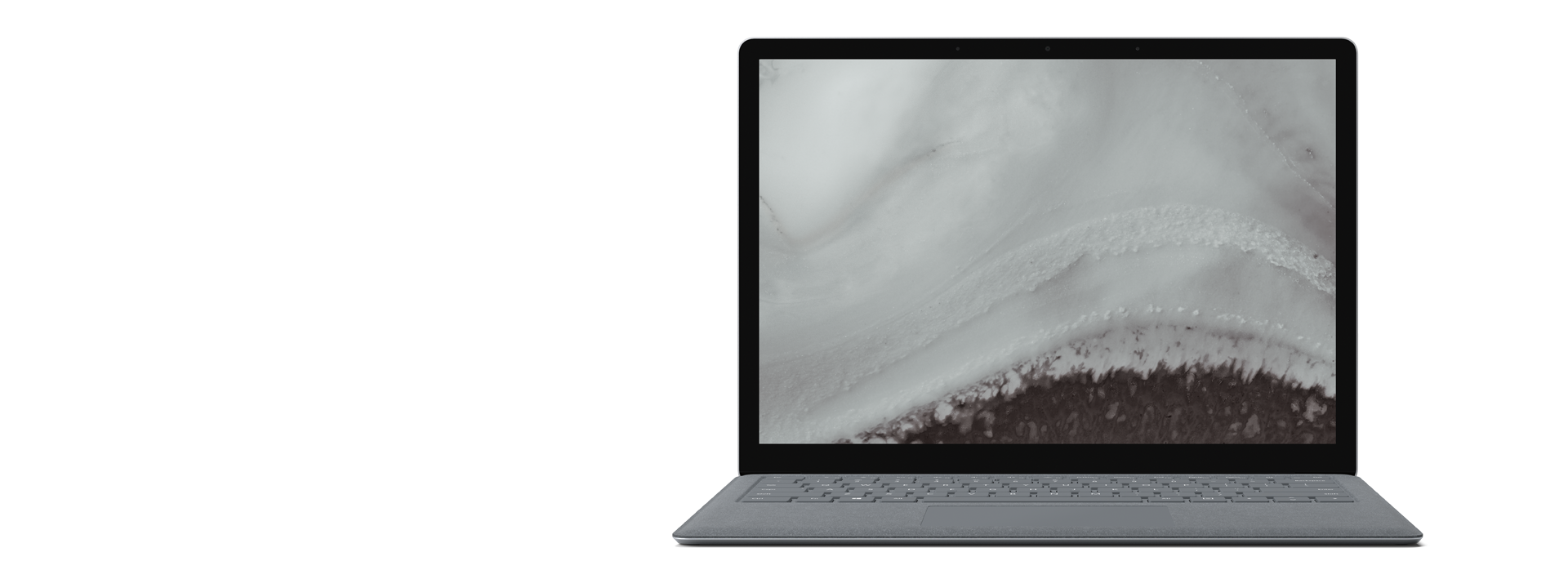 Surface Laptop 2 – Platin Grau