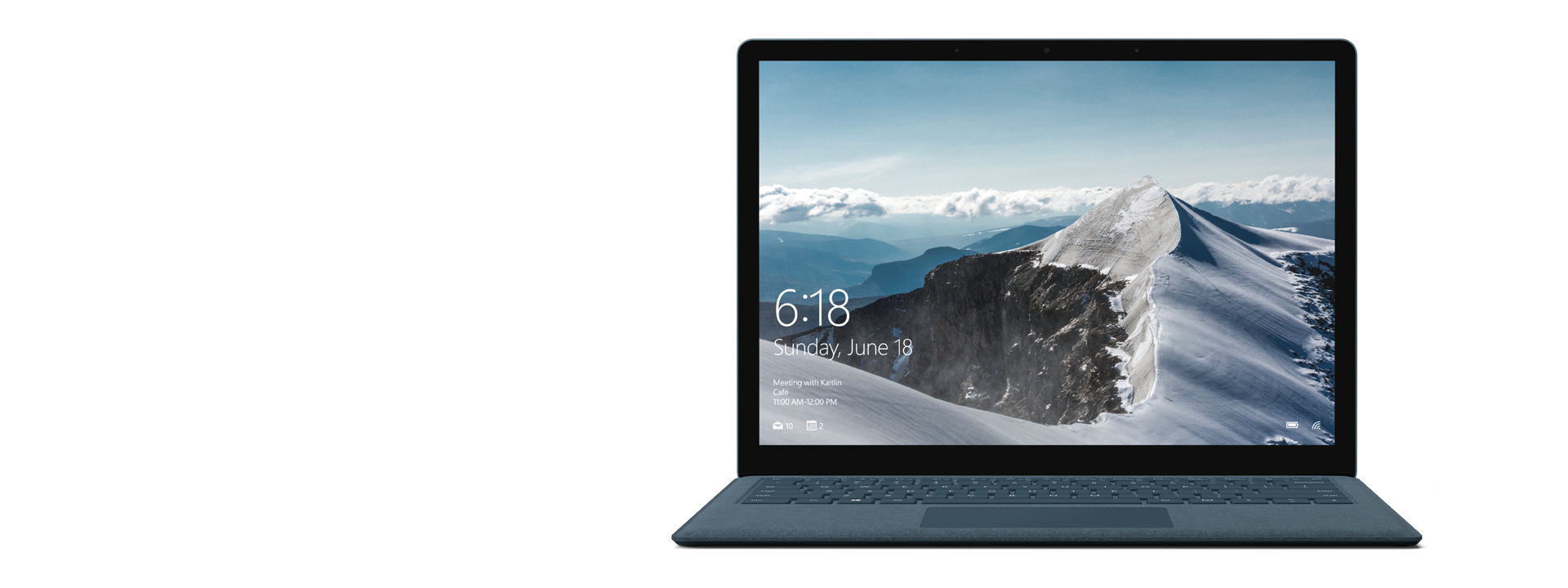 Surface Laptop – Kobalt Blau
