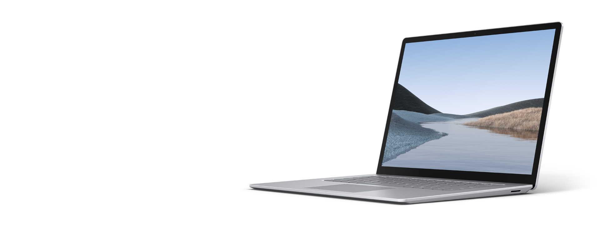 Surface Laptop 3 (15 Zoll) in Platin Grau