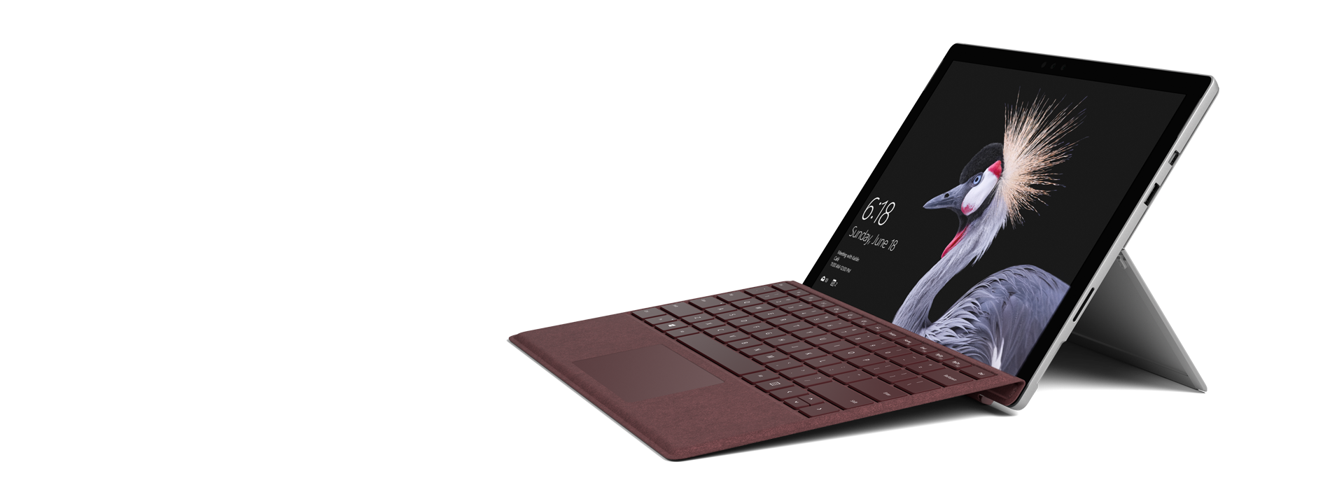 Surface Pro – Bordeaux Rot